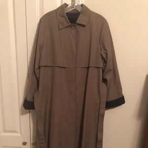 London Fog full length all weather Jacket, size 14